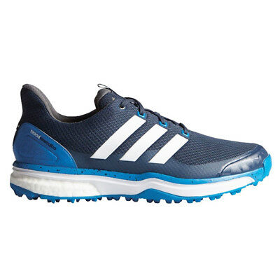 NEW Mens Adidas Adipower S Boost 2 Golf Shoes Blue/White - Choose Your Size!
