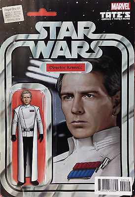 STAR WARS ROGUE ONE #1 JTC Director Krennic Variant Action Figure Variant Marvel