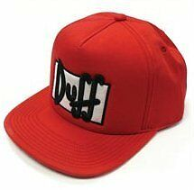 The Simpsons Duff Beer Duffman Adjustable Hat Cap