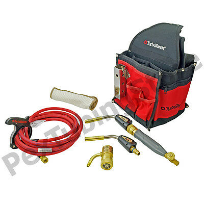 TurboTorch 0386-1397 PL-DLXPT Deluxe Portable Torch Kit, MAP-Pro/Propane