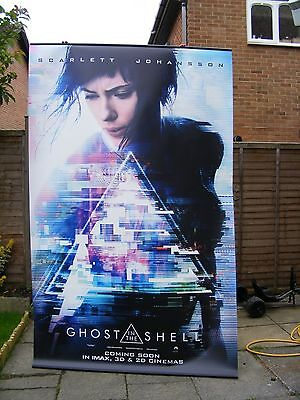 Original Cinema Poster of Ghost In The Shell - Double Sided Poster - 2.4m x 1.5m