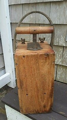 Antique HERCULES 50 Cap BLASTING MACHINE Dynamite Rare! Wilmington, Delaware