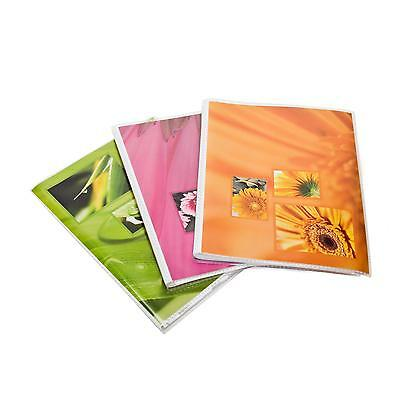 3x Hama Couverture Souple Photo Album Slip En Mortaise Mix De Couleurs 13x18