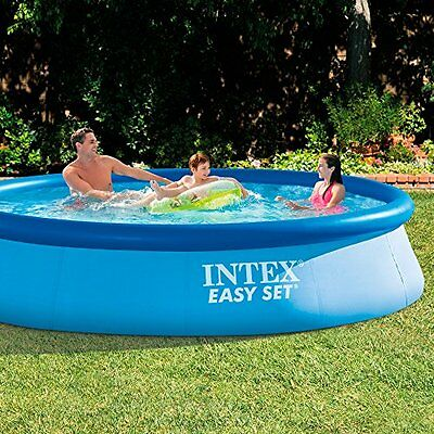 Intex Easy Set - Piscina hinchable, 244 x 76 cm, 2.419 litros