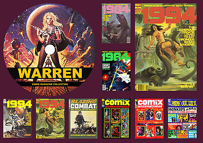 Warren Comic Magazine Collection On DVD ROM