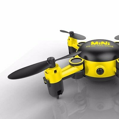 2.4Ghz 6-Axis Gyro 3MP Camera Mini RC Drone Foldable Nano Quadcopter 3D Rolling