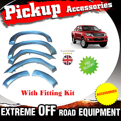 Toyota Hilux 2011-16 Fender flares wheel arches for Hilux Mark 7 MK 7 2011 2012