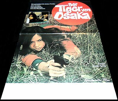 1974 Zero Woman: Red Handcuffs ORIGINAL GERMANY A3 POSTER Pinky Violence