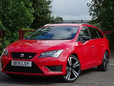 Seat Leon 2.0 Tsi Cupra 280 Sport Tourer Estate - Red