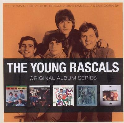 THE YOUNG RASCALS - 5CD ORIGINAL ALBUM SERIES (NEW & SEALED) Inc Groovin