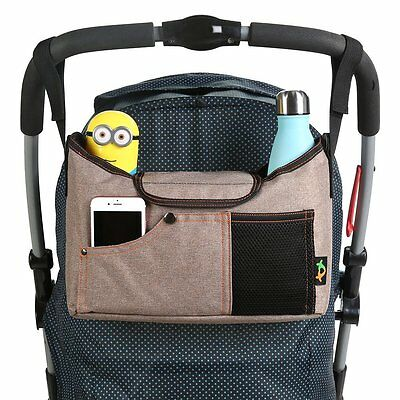 Best Universal Baby Jogger Stroller Organizer Bag / Diaper Bag with Superior &