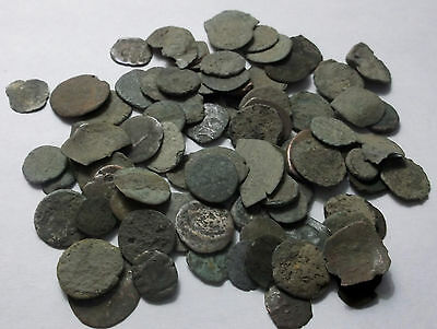 Lot of 90 Roman Byzantine Medieval coins