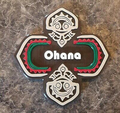 Polynesian Themed Sign - Ohana!!!!