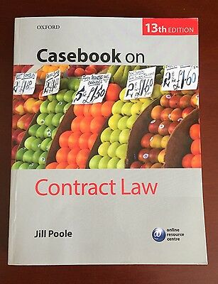 Casebook On Contract Law - 13th Edition
