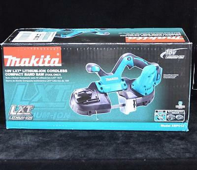"Makita XBP01Z  2-1/2"" Compact Bandsaw 18V Battery LXT Li-Ion Tool Only New NIB"