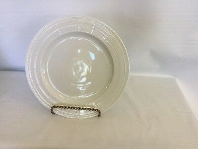 Bernardaud Limoges Louvre Blanc 1 Charger Plate New With Stickers