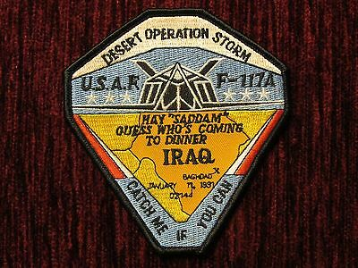 Abzeichen Desert Strom Operation USAF F-117A Catch me if you can, Insignia