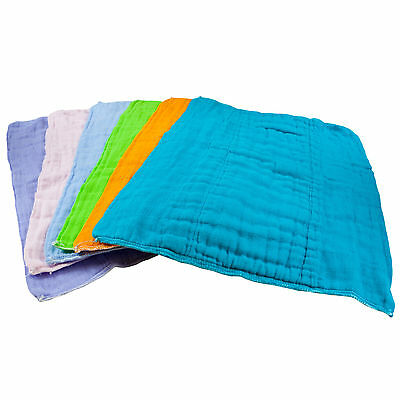 Osocozy Burp Cloths Dyed Prefolds (3 pk)