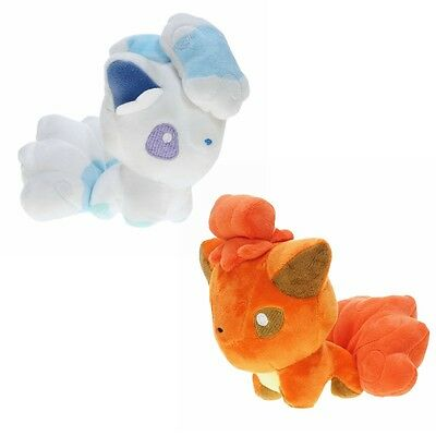 Pokemon Sun Moon Alolan Alola Vulpix Pokedoll Plush Doll Collection Toy Gift 6""