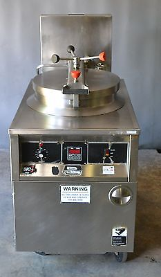Used BKI Industries  FKM-F Electric Chicken Pressure Fryer, Excellent, Free Ship