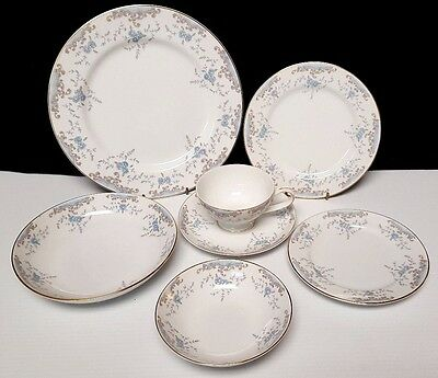 7 PIECE PLACE SETTING IMPERIAL by W DALTON SEVILLE CHINA 5303 includes SOUP BOWL