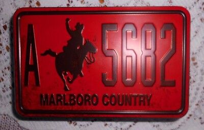 OLDTIMER ORIGINAL MARLBORO COUNTRY A-5682 Blechdose Metall Tin Can Oldies Selten