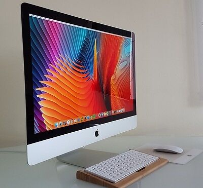 APPLE iMAC 27 RETINA 5K LATE 2015 SLIM i5 8GB 1TB MINT WITH RECEIPT PAID £1749
