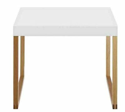 Habitat Kenstal Oak Side Table in White Brand New and Boxed