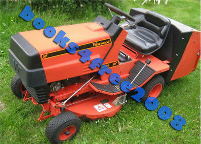Westwood Ride On Mower Garden Tractor Owner User Manual On Cd