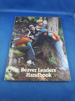 Beaver Leaders Handbook 1984 Boy Scouts Themes Ideas Outings Training Resources