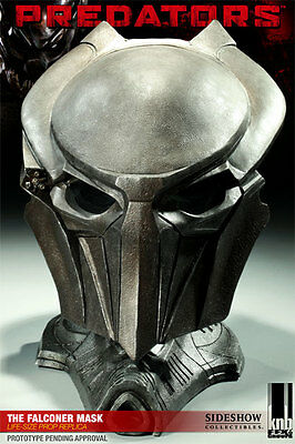Sideshow Predator The Falconer Replica Mask Bust Figure Statue Aliens Alien Rare