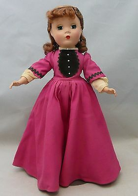 "Vintage Madame Alexander 13"" Little Women Jo Doll"
