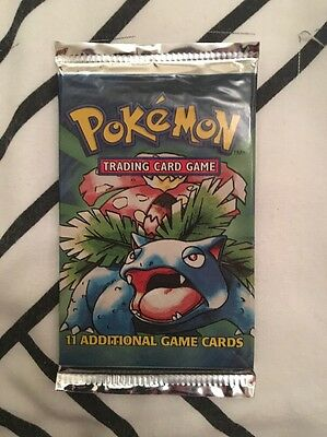 Pokemon US 4th Print Base Set Booster Pack VERY RARE