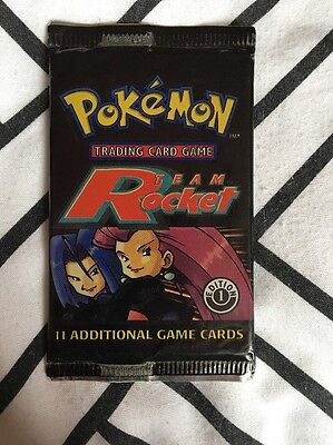 Pokemon 1st Ed Team Rocket Booster Pack