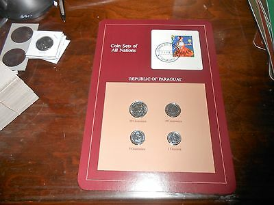 Nice Coin Sets Of The All The Nations Paraguay Coin Set