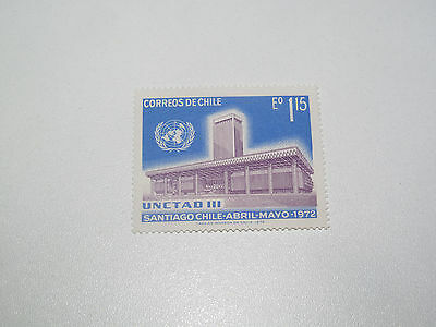 Timbre Poste Neuf Stamp TTB Chili Chile UNCTAD III 1972