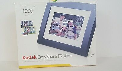 "Kodak Easyshare P730M 7"" Digital Photo Picture Lcd Frame Store 4000 Photo"