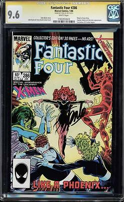 Fantastic Four #286 Cgc 9.6 White Pages Ss Stan Lee Cgc #1183353023