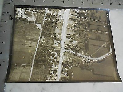 #36 WWI Photo 5th Air Corp 1st Army / AERIAL PHOTOGRAPH IN FRANCE