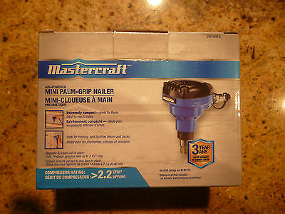 Mastercraft Mini Palm-Grip Nailer