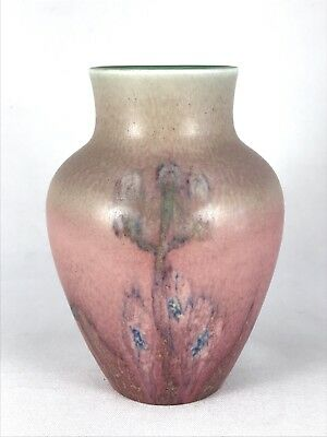 Rookwood 1929 Vase attributed to Elizabeth Lincoln vtg art pottery wax matte