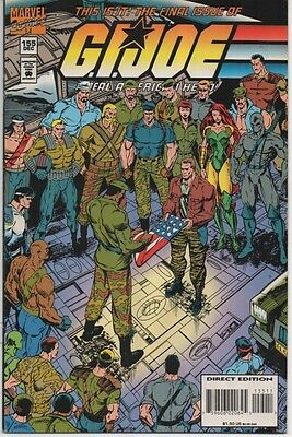 G.I. Joe A Real American Hero! #155 Final Issue!!! Marvel Comics 1994 Cobra