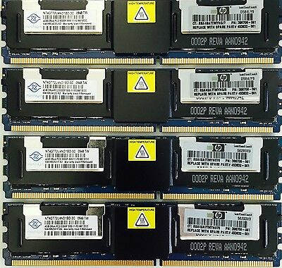 12GB 16GB 24GB 32GB (4GB Memory) PC2-5300F DDR2-667 ECC SERVER RAM MEMORY