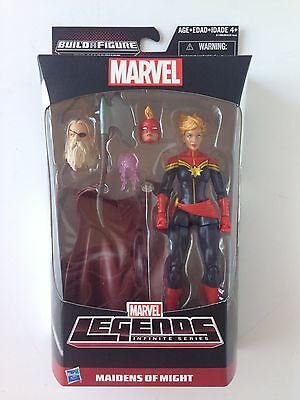 Maidens of Might Marvel Legends Infinite Series Captain Marvel Action Figure