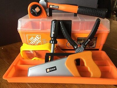 Childs Tool Box And Tools- Home Depot