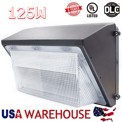 70W 100W 125W LED Wall Pack Outdoor Light UL Listed Photocell Eye Can be Choose