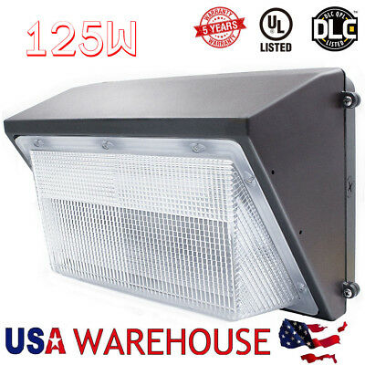 70W 100W 125W LED Wall Packs Lighting Fixture Photocell Eye Can be Choose 110V