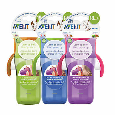 PHILIPS AVENT GROWN UP CUP 340ML 18 MONTHS+ - drink cup toddlers big assorted