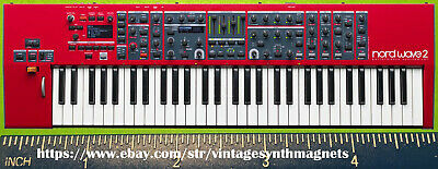 CLAVIA NORD WAVE LEAD 1 2 3 4 A1 anniversary G2X G2 modular SYNTHESIZER MAGNET