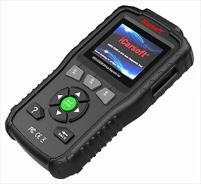VOLVO DIAGNOSTIC SCANNER TOOL CODE READER AIRBAG SRS ABS RESET iCarsoft VOL v1.0